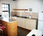 agulhas heights accommodation kitchen area
