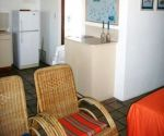agulhas heights self catering lounge area