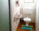 manskyn house struisbaai bathroom with shower