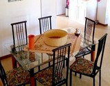 manskyn house struisbaai guest dining table