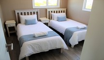nicobar house cape agulhas guest twin bedroom