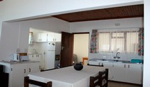 ocean echo struisbaai guest kitchen