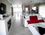 seven seas agulhas accommodation upstairs lounge with TV